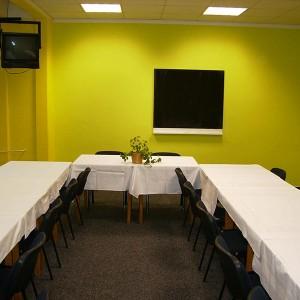 Malá zasedací místnost (zelená)