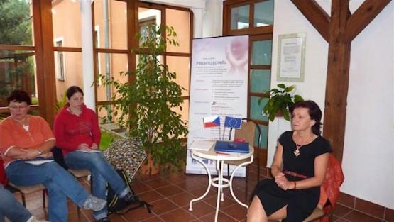 Kurz Komunikace a spolupráce v týmu – Domov pod hradem Žampach